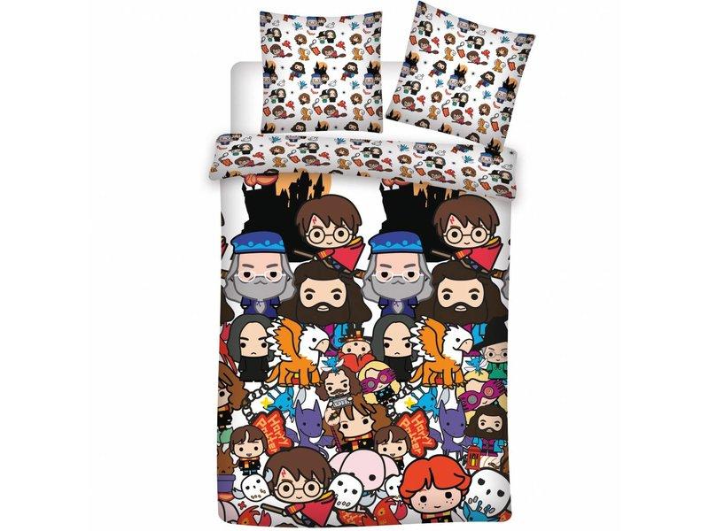 Harry Potter Emojis - Housse de couette - Seul - 140 x 200 cm - Multi