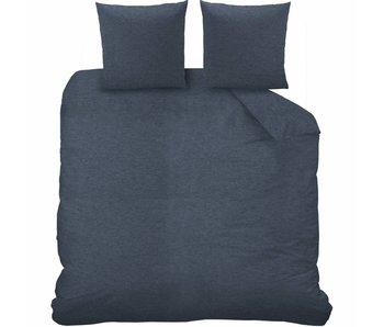 Matt & Rose Duvet cover Jersey Bleu Chiné 200 x 200 cm