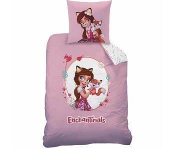Enchantimals Enveloppe de couette Felicity Fox 140x200 cm