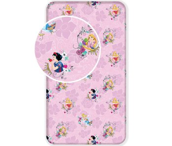 Disney Princess Fitted Sheet Pink Single