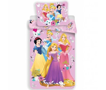 Disney Princess Dekbedovertrek Pink 140x200