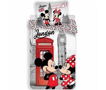Disney Minnie Mouse Dekbedovertrek Londen 140x200 cm
