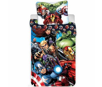Marvel Avengers Bettbezug Superhelden 140x200 cm