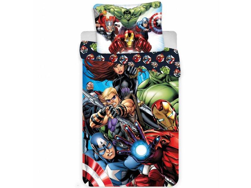 Marvel Avenger Dekbedovertrek Superhelden 140x200 70x90cm