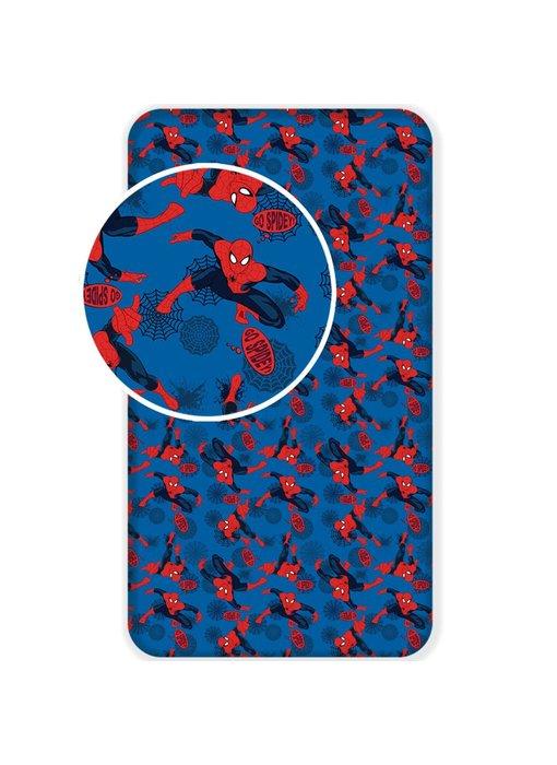 SpiderMan Hoeslaken Go Spidey 90x200 cm