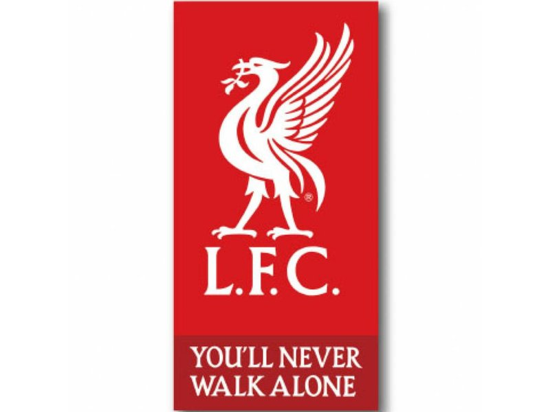 Liverpool FC Logo - Beach towel - 70 x 140 cm - Red