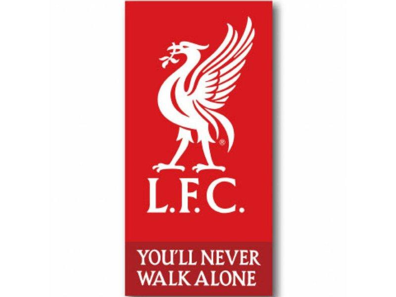 Liverpool FC Logo - Strandtuch - 70 x 140 cm - Rot