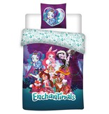 Enchantimals Friends - Duvet cover - Single - 140 x 200 cm - Multi