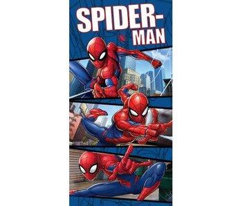 SpiderMan Strandlaken Action 70x140cm 100% katoen