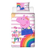 Peppa Pig Hooray - Duvet cover - Single - 135 x 200 cm - Multi