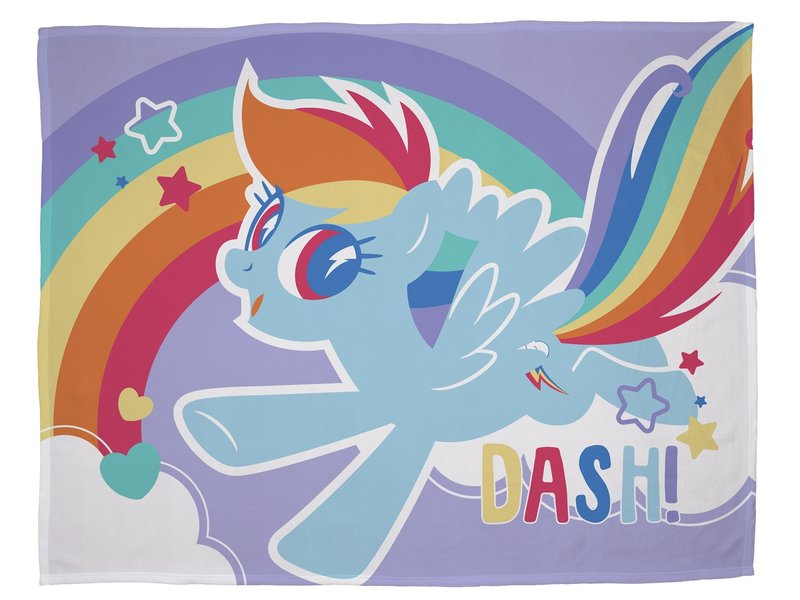 My Little Pony Crush - Fleece blanket - 100 x 150 cm - Multi