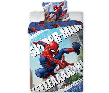SpiderMan Dekbedovertrek 140x200 + 70x90cm