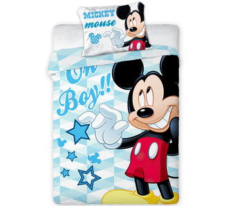 Disney Mickey Mouse BABY duvet cover 100x135cm + 40x60cm 100% cotton