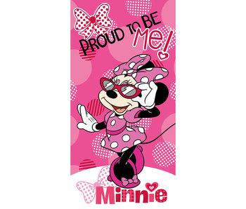Disney Minnie Mouse Serviette de plage 70x140cm 100% coton