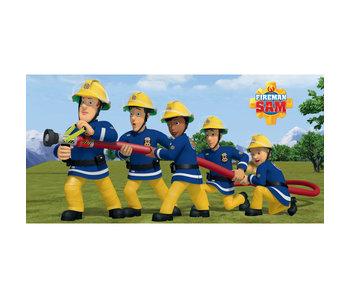 Brandweerman Sam Strandlaken 70x140cm 100% katoen