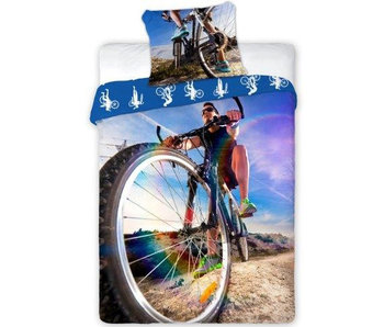 Sport Bettbezug Moutainbike 140x200 cm