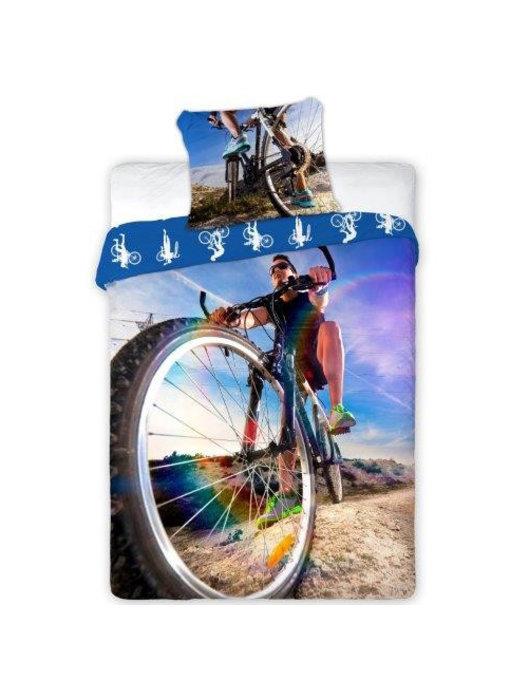 Sport Duvet cover Moutainbike 140x200 cm