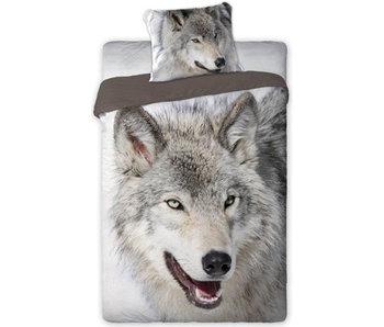 Animal Pictures Dekbedovertrek Wolf 140x200 + 70x90cm