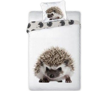 Animal Pictures Duvet cover Hedgehog 140x200 + 70x90cm 100% cotton