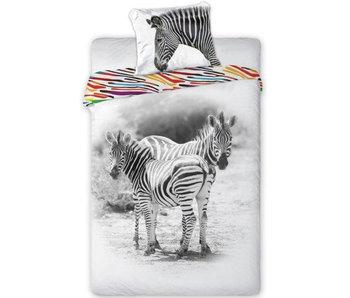 Animal Pictures Housse de couette Zebra 140x200 cm