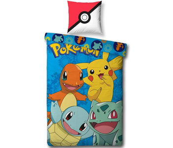 Pokémon Housse de couette Pikachu 140x200 cm