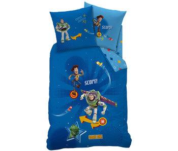 Toy Story 4 Dekbedovertrek Pinball 140x200 + 63x63 cm