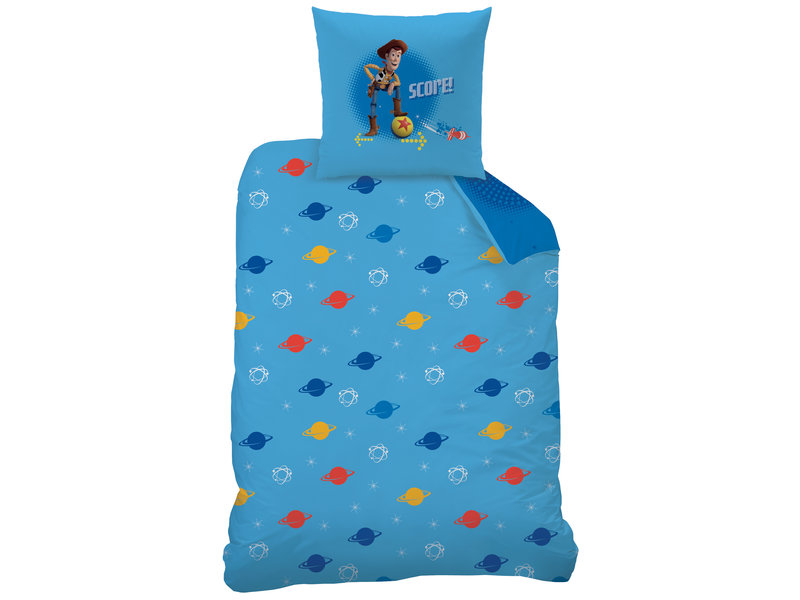 Toy Story 4, Pinball - Bettbezug - Single - 140 x 200 cm - Blau