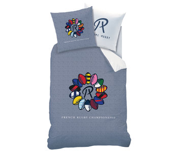 R comme Rugby Duvet cover Rosace 140x200 cm