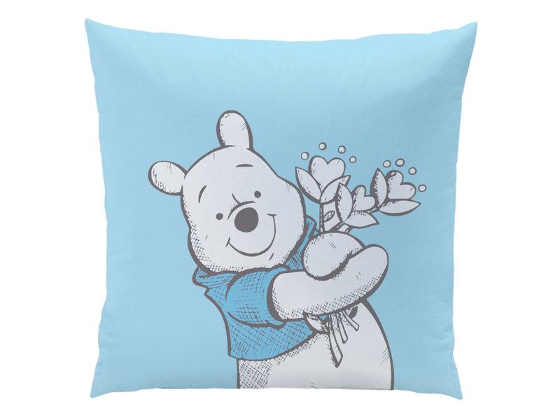 Disney Winnie the Pooh Butterfly - Dekbedovertrek - Eenpersoons - 140 x 200 cm - Blauw