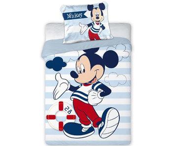Disney Mickey Mouse Housse de couette BABY Sailor 100x135cm + 40x60cm