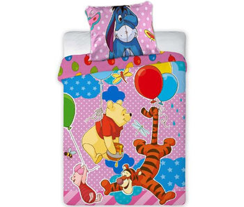Disney Winnie the Pooh BABY dekbedovertrek party 100x135cm + 40x60cm