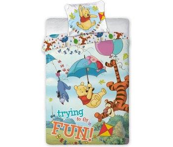 Disney Winnie the Pooh Bettbezug Fly 140x200 cm