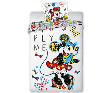 Disney Minnie Mouse Bettbezug Simply Me 140x200 cm