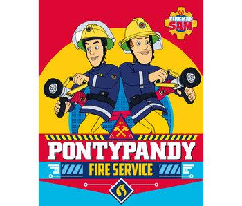 Brandweerman Sam Polaire plaid 120x150cm