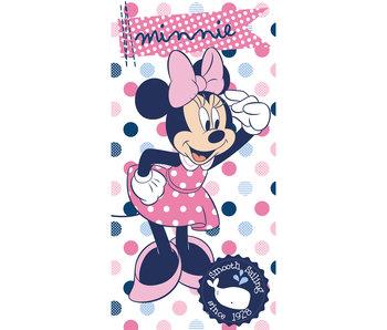 Disney Minnie Mouse Serviette de plage Dots 70x140cm 100% coton