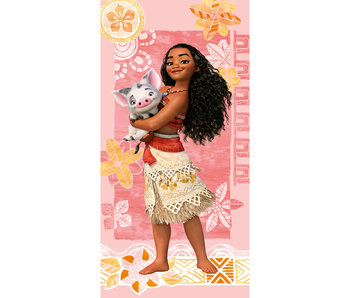 Disney Vaiana Beach towel 75x150cm 100% cotton