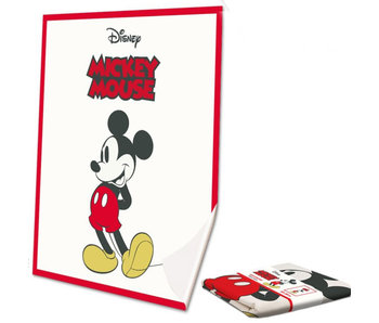 Disney Mickey Mouse Silk touch plaid Classic 130x160 cm