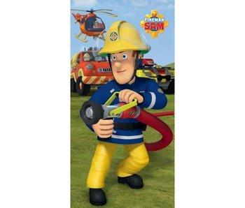 Brandweerman Sam Strandtuch 75x150cm 100% Baumwolle