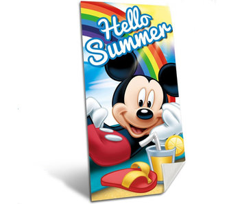 Disney Mickey Mouse Strandtuch Hello Summer 140x70cm