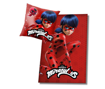 Miraculous Cushion and Plaid set