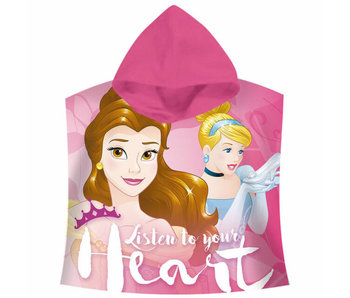 Disney Princess Poncho Listen to your heart 120x60cm