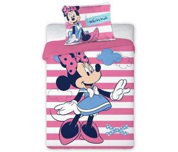 Disney Minnie Mouse Housse de couette BABY Stripes 100x135cm + 40x60cm