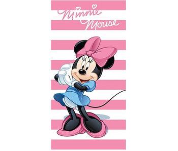 Disney Minnie Mouse Beach towel Stripes 140x70 cm