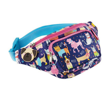 Floss & Rock Sac banane Animaux 29 x 13 cm