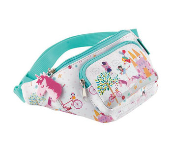 Floss & Rock Sac banane Unicorn 29 x 13 cm