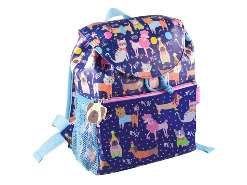 Floss & Rock Pets - toddler / toddler backpack - 30 cm - Blue