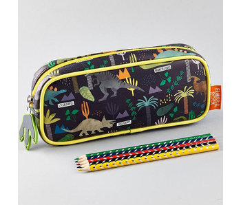 Floss & Rock Dinosaur pencil case 23 x 12 x 4 cm