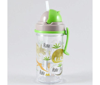 Floss & Rock Drinking bottle Dinosaur 350ml
