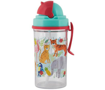 Floss & Rock Drinking bottle Jungle 350ml