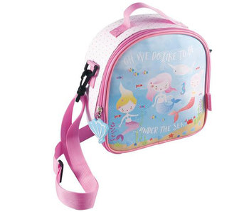 Floss & Rock cooler bag Mermaid 22 x 22 x 9 cm